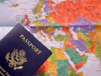 Passport abroad